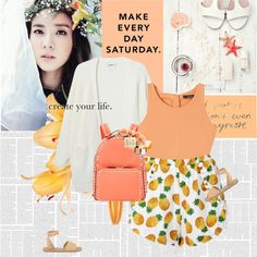 Make everyday Saturday Outfit Idea 2017