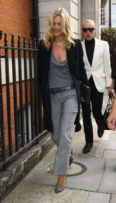 The Fashion Stylista: The Fashion Muse | Kate Moss in London