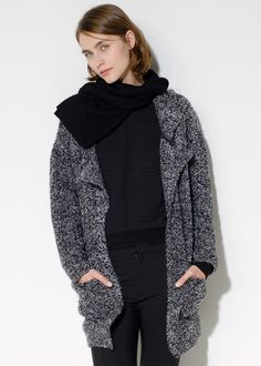 MANGO - Bouclé-knit cardigan #FW14 #NEW