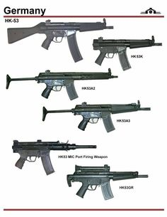 Germany: that magazine is a pain! Military Weapons, Weapons Guns, Guns And Ammo, Assault Weapon, Assault Rifle, Battle Rifle, Future Weapons, Submachine Gun, Fire Powers