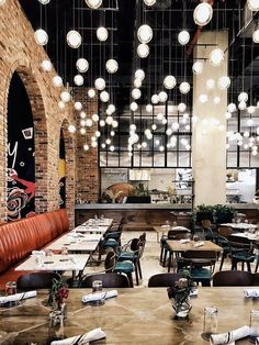 Williamsburg's Best All-In-One Hotel For A Night Out #restaurantdesign #InteriorDesignCafe