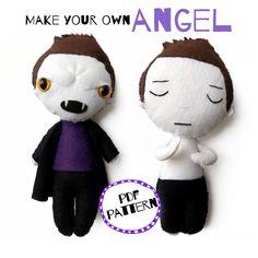 Make Your Own, How To Make, Buffy The Vampire Slayer, Campaign, Pdf, Teddy Bear, Angel, Dolls, Medium