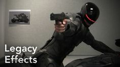 Making of Robocop's armor by Legacy Effects / ZBrush / 3D Printing / Fabrication Arts