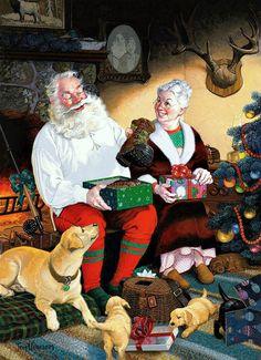 """Tom Newsom - """"Santa's Day"""""""