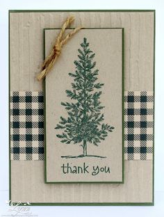 Stampin' Up  Lovely as a Tree  www.creativecraftsbylynn.blogspot.com