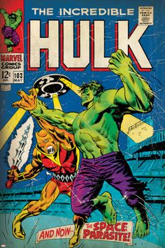 Marvel Comics Retro: The Incredible Hulk Comic Book Cover No.103 ...