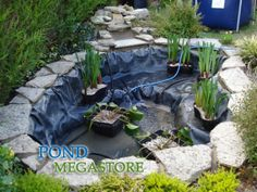 Gardens Discover Atemberaubende verträumte Hinterhof-Teich-Entwürfe 44 For other models you can visit the category. Backyard Water Feature, Natural Pond, Plants, Small Water Gardens, Backyard Landscaping, Garden Pond Design, Ponds Backyard, Fountains Outdoor, Backyard