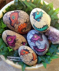 During my last trip to the beach, I apparently picked up some dragon eggs instead of regular ol'  stones!
