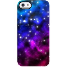 Uncommon Universal Galaxy iPhone 5/5S TS Deflector Case ($19) ❤ liked on Polyvore featuring accessories, tech accessories, phone cases, phones, tech, phone covers and multi