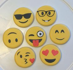 This listing is for 12 hand decorated cookies. Listing includes a variety of Emoji cookies. All cookies are made to order and are hand decorated with royal icing. Each cookie comes individually packaged & heat sealed in a cellophane bag. Cookies measure 2.5 All my cookies are hand