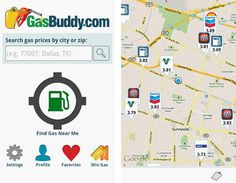 great way to check gas prices near you. Gas Buddy, Top 10 Apps, Good To Know, My Life, Destinations, Vacation, My Favorite Things, Car, Tips