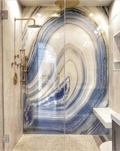 12 Awesome Marble in Shower Design Ideas - Interior - Design Dream Bathrooms, Dream Rooms, Beautiful Bathrooms, Tile Bathrooms, Luxury Bathrooms, Modern Bathrooms, Deco Design, Design Case, Design Trends