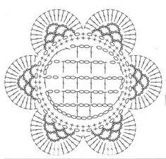 Crochetpedia: Patrones 2D flores del ganchillo gratis