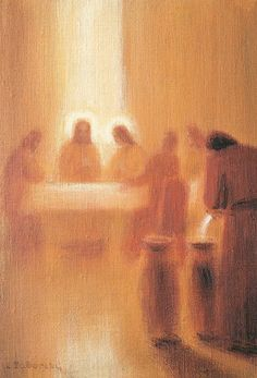 Christ turns water into wine at a wedding in Cana Christian Paintings, Christian Art, Lds Art, Bible Art, Catholic Art, Religious Art, Arte Lds, Pictures Of Jesus Christ, Jesus Painting