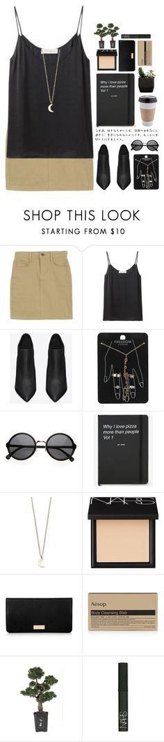 """""""Untitled #1971"""" by tacoxcat ❤ liked on Polyvore featuring Delfina Delettrez, Yves Saint Laurent, Topshop, Minor Obsessions, NARS Cosmetics, Henri Bendel, Aesop and Nearly Natural"""