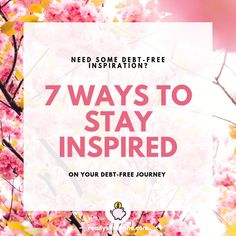 Getting out of debt can be a long and tiring adventure, so I've put together 7 ways to stay inspired on your debt-free journey. Pumpkin Seeds Benefits, Greek Yoghurt, Get Out Of Debt, Shark Tank, Chia Pudding, Diet Pills, Chia Seeds, Superfood, Keto