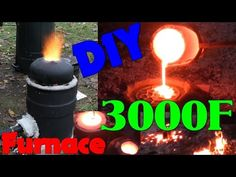 I made a small furnace for casting iron and stainless steel. It uses the same burner as my aluminum furnace but takes about 2 hours to heat up( a nozz. Electric Arc Welding, Iron Furnace, Watch Diy, Cool Watches, Black Watches, Cheap Watches, Metal Casting, Sand Casting, Metal Working Tools