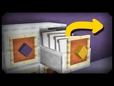 ✔ Minecraft: How to make a Working Filing Cabinet - YouTube