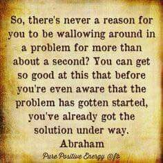 You can get so good at this that before youre even aware that the problem has gotten started, youve already got the solution under way. Great Quotes, Inspirational Quotes, Everything Is Energy, Abraham Hicks Quotes, Remember Who You Are, Secret Law Of Attraction, Spiritual Wisdom, Affirmation Quotes, Note To Self