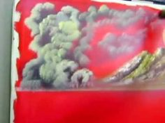 live painting by John Χαρούμενο ηλιοβασίλεμα .2ο Επισ. Ioanni Vamvakari BOB ROS - YouTube