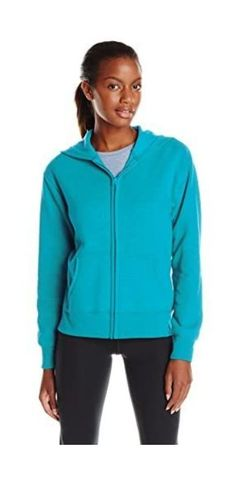 50% Cotton, 50% Polyester Imported Zipper closure Machine Wash Soft and cozy cotton-blend fleece keeps you warm and comfortable Ribbed hem and cuffs Full-zip hood for easy on and off