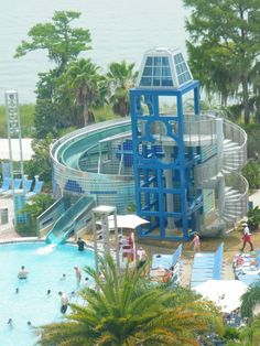 Bay Lake Tower Pool Mallory's going to love this!