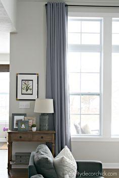 Fresh Drapery Ideas for Wide Windows