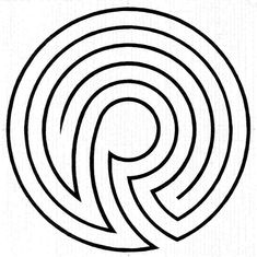 how to make a 5 circuit classical labyrinth from a 5 circuit rh pinterest com