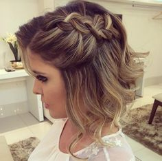 Formal Braid for Short Hair | 24 Perfect Prom Hairstyles | Makeup Tutorials Guide
