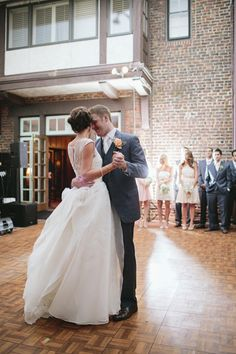 The First Dance | Brooke Courtney | TheKnot.com