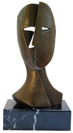 Pablo Picasso - Inspired Bronze Sculpture