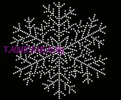 8 inch snowflake bling Rhinestone Transfer by FashionMommyBoutique, $10.00 Christmas Clock, Christmas Snowflakes, Christmas Tree Ornaments, Christmas Crafts, Dot Art Painting, Rock Painting Designs, Tole Painting, Mosaic Art, Mosaics