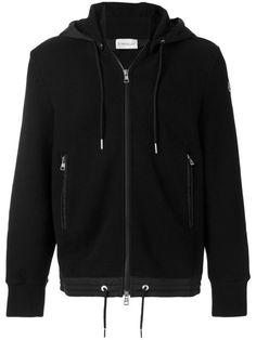 Classic Zip Hoodie, Black | Pinterest | Moncler, Black zip hoodie and Zip