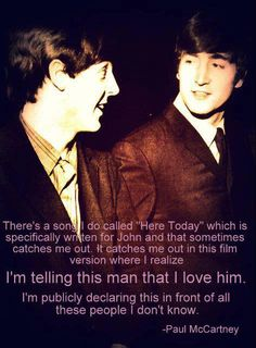 Paul McCartney and John Lennon Listen to what the man says 💖They were best mates Beatles Love, Les Beatles, Beatles Quotes, Beatles Band, John Lennon Happy Christmas, John Lennon Paul Mccartney, Paul Mccartney Quotes, John Lennon Quotes, The Quarrymen