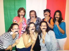 Italian Party Backdrop for Photobooth