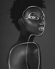 "K O K E T I T 🌸 SHIRA BARZILAY on Instagram: ""Masks are essential ✨ . Original pic beaautifulblackwomenoftheday.club #blackwomenmodels  Art by me ✨ . The world is my canvas ✨ . . Adding…"" Art Photography Portrait, Still Photography, Photography Illustration, Photo Illustration, Portrait Art, Levitation Photography, Exposure Photography, Water Photography, Abstract Photography"
