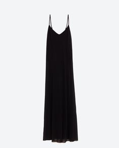 Image 8 of LONG DRESS WITH INTERIOR BODYSUIT from Zara