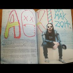 #SteveAoki Big Chilling in #360Magazine w/ #DIMMAK #Shades http://the360mag.com/issue.html