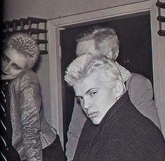 ~ Billy Idol & Siouxsie Sioux ~Generation X † ~