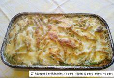 Rakott zöldbab gazdagon Lasagna, Mashed Potatoes, Macaroni And Cheese, Bacon, Ethnic Recipes, Food, Gastronomia, Whipped Potatoes, Mac And Cheese