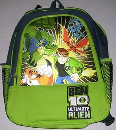 Ben 10 Tennyson Big Chill Ultimate Alien 16' Backpack * More info could be found at the image url.