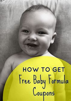 Do you need free Enfamil baby formula coupons? Here are two ways to get these free formula coupons and samples in the mail. Baby Formula Coupons, Formula Baby, Baby Coupons, Food Coupons, Infant Formula, Enfamil Coupons, Baby Bottle Storage, Couponing For Beginners, Baby Baskets