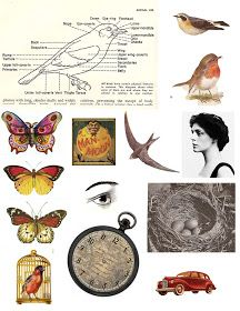 My Artful Life: Free Collage Sheets