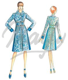 Our Patterns :: Marfy Collection 2014/2015 :: Autumn/Winter :: Sewing Pattern 3482 -
