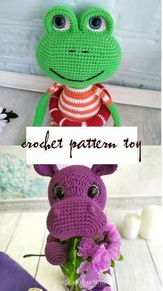 Crochet pattern pdf, digital pattern Crochet Dolls, Crochet Hats, Handmade Gifts, Handmade Ideas, Amigurumi Toys, Digital Pattern, Plushies, Free Pattern, Crochet Patterns