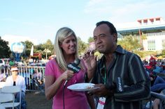 Reg and Kate enjoying food at the Clearwater Jazz Holiday. www.wtsp.com 10 News, Behind The Scenes, Jazz, Holiday, Food, Vacations, Jazz Music, Essen, Holidays