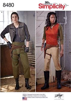 Cosplay in the style of Star Wars Rogue One Alliance Costumes, Jyn Erso, SEWING Pattern Simplicity 8480 sizes Firefly Costume, Firefly Cosplay, Costume Star Wars, Costume Patterns, Costume Ideas, Cosplay Ideas, Warrior Costume, Jedi Costume, For Elise