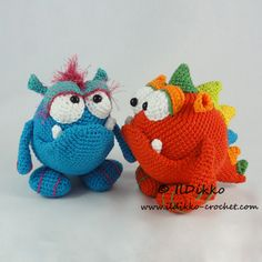 Monty and Myrtle the Monsters by IlDikko