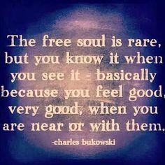 Charles Bukowski on the free soul