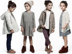 Kids Studio – Inspiration for girls Kids Winter Fashion, Cute Kids Fashion, Little Girl Fashion, Look Fashion, Fashion Clothes, Teenage Girl Outfits, Boy Outfits, Kids Collection, Minimalist Kids
